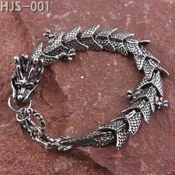 5pcs Men's Jewellery Fine Alloy Dragon Bracelets
