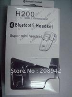 Best selling Universal Wireless Mobile H200 Bluetooth Headset Earphone Handsfree US Plug Free Shipping