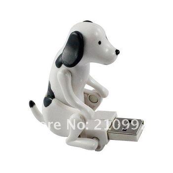 50pcs/Lot Wholesale Funny Cute pet USB Humping Spot Dog Toy Christmas Gift Free Shipping