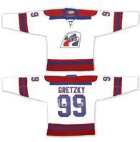 Wholesale Jersey Wayne Gretzky #99 Indianapolis Racers-Vintage WHA Ice Hockey Jersey Stitch Sewn  Mix order