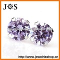 Free Shipping! Hot Selling 925 Sterling Silver Earrings, Fashion Jewelry Earrings, Stud Zircon Earring