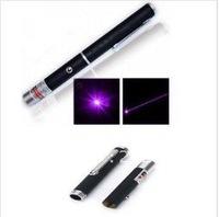 Free shipping wholesales 50pcs/lots  Purple Blue Beam Laser Pointer Pen
