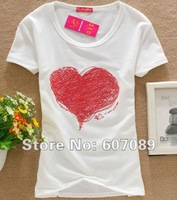 free  shipping new arrival fashion  tshirts  lady tshirts with high quality and cheap price,top sailling