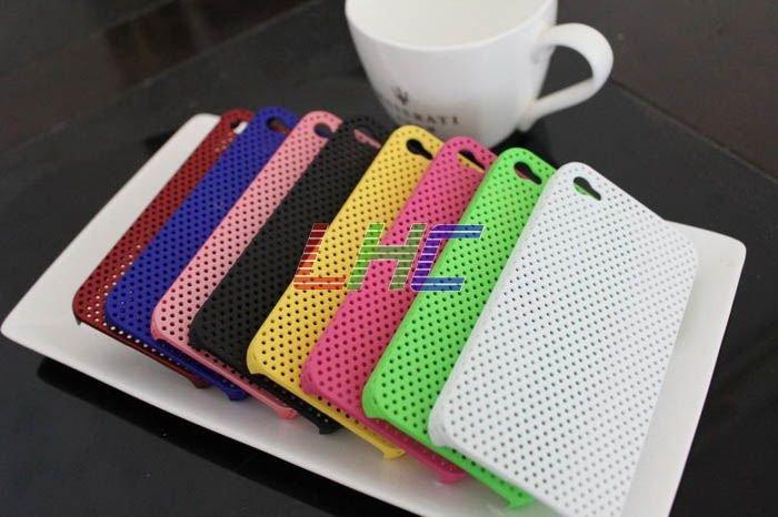 Mesh Hole Thin Net Case For iPhone 4 100pcs free shipping!!(China (Mainland))