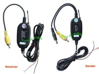 2.4G  wirelss car camera video transmitter and receiver for GPS or car DVD/car monitor