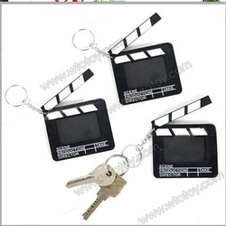 Director Film Clapper Board Photo Frame Key Chain Keyring(3-Pack)(China (Mainland))