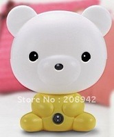 Best selling.EMS Free shipping! 30 pcs/lot Novelty wise bear table lamp. Retail/wholesale
