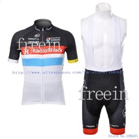 New Arrival 2012 Radioshack Short Sleeve Cycling Jerseys and BIB Shorts Set/Cycling Wear