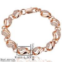 Promotion!The Lowest price!18k gold Bracelet,18k gold jewelry ,wholesale fashion jewelry Bracelet,The best quality KB21