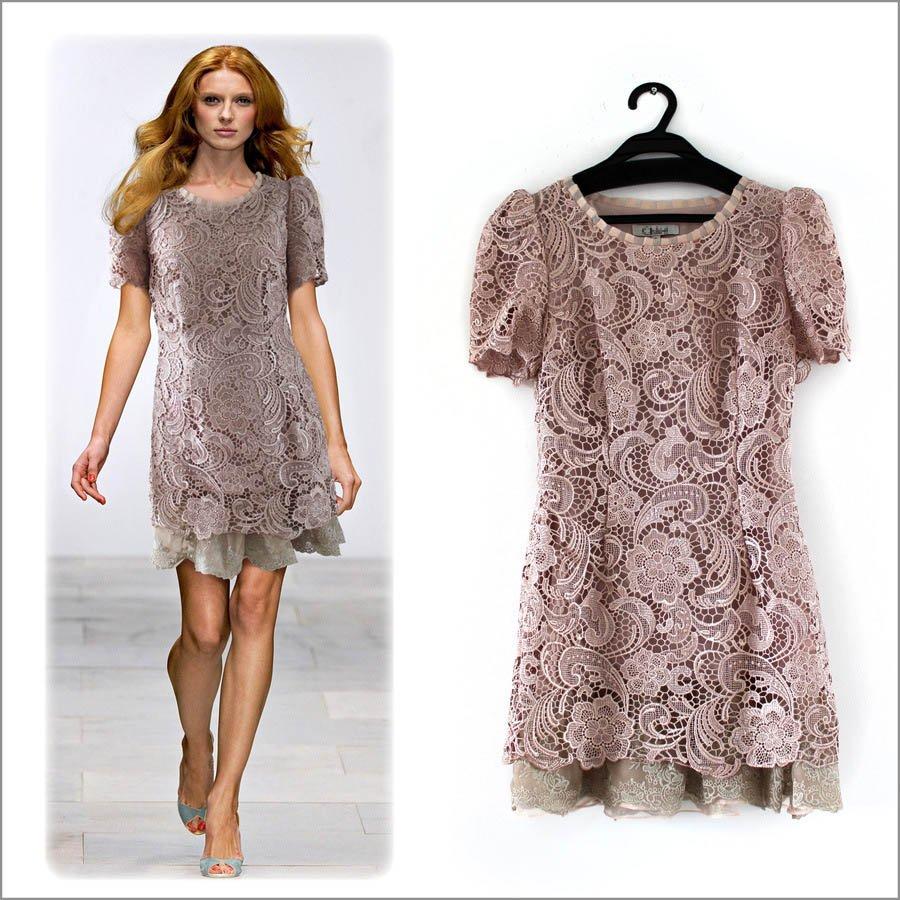 Купить Модное Кружевное Платье
