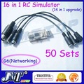F02107-50 18 in 1 RC Heli Flight Car Simulator Cable G6 Networking PX4.0/3.0 G5.5/G5,XTR,FMS,AeroFly,VRC2 + Freeship