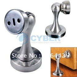 Home Office Stainless Steel Silver Magnetic Door Stopper Holder Catch GH-MX318 Free Shipping(China (Mainland))