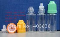 free shipping 2500pcs/lot 10ml PET Child Proof cap drop bottle by Fedex , eye drop bottle, plastic bottle e-liquid bottle