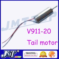 Wholesale F02133 V911-20 Tail motor For mini 4ch WL V911 RC Helicopter + Free shipping