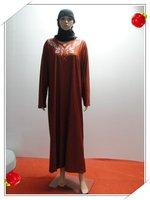 Muslim dress Muslim high-grade embroidery robes
