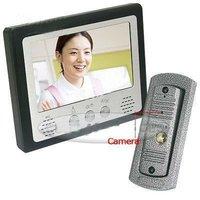 """Home Security 7"""" LCD Doorbell Video Door Phone Intercom"""