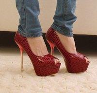 Туфли на высоком каблуке 4199