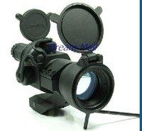 Telescopic Sight Illuminated Red/Green Dot Laser+Mounts rifle scope
