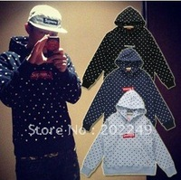New mens AAA+Quality Comme des Garcons cdg  SUPREME box men's Sweater hoodie jacket
