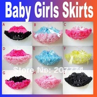 1-6Y 5pcs/lot Pettiskirt Birthday baby girls skirts baby wear Free Shipping