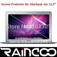 "50pcs/lot screen protector fo macbook air 13.3"", for macbook air 13.3"" screen protector, OPP bag packing, free shipping"