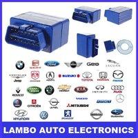 2012 mini ELM327 Bluetooth wireless OBD-II CANBUS DIAGNOSTIC TOOL Free shipping