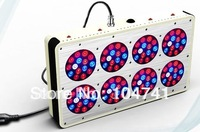 Promotion!DHL Free shipping 260w(120*3w) Apollo 8 LED Grow lamp light,Red:Blue:Orange=10:3:2 or customized ratio