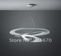 FREE shipping convolution whirl D100cm famous brand white color Pendant lamp wholesales residential dinning lighting hotel lamp