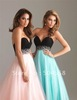 Free Shipping wedding Gown bridal Evening Bridesmaid ball formal Cocktail Prom dress custom In Stock