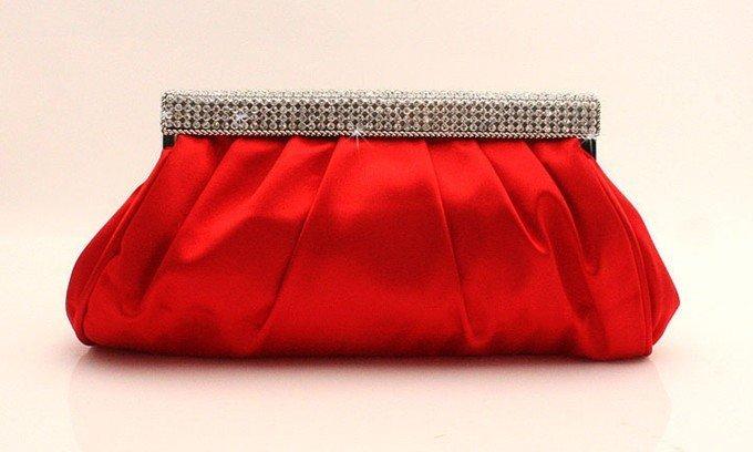 Free Shipping 2017 Fashion Rhinestone Clutch Woman Bags Wedding Evening Bag Las Party Gift Lady S Silk Cabas