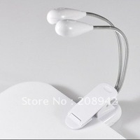 Best selling. Bright Double Flex LED Clip on Light. Free shipping! Retail/wholesale