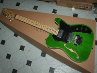 best new signing hollow green guitar Musical Instruments