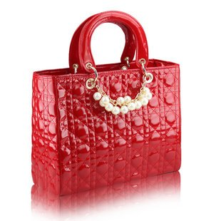 Free Shipping!2012 Korean Version Of The New Spring And Summer Candy Bags  Red Stereotyped  Handbags