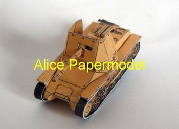 [Alice papermodel]1:72 1:48 1:33 WWII sms anzerjagers tank armored vehicles truck car jeep models