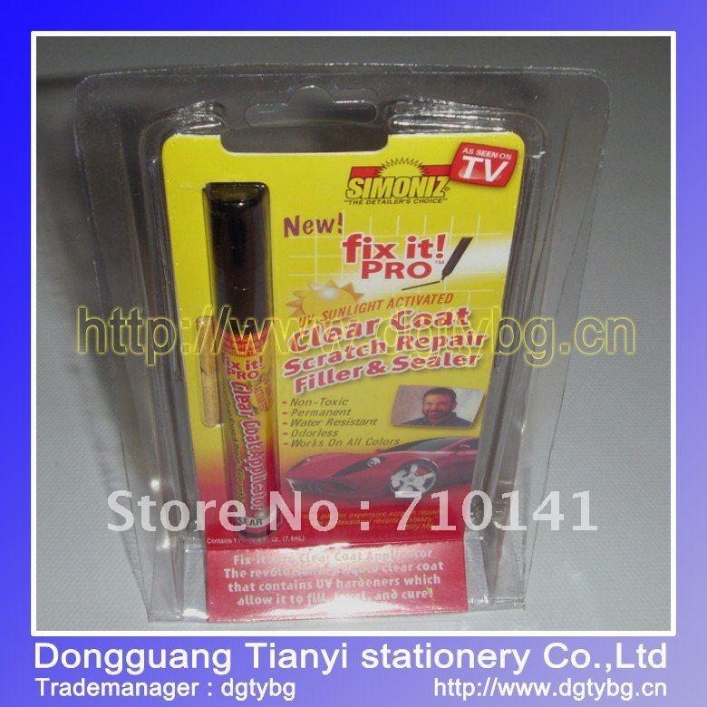 Wholesale auto paint new scratch repair pen car scratch pen simoniz fix it pro(China (Mainland))