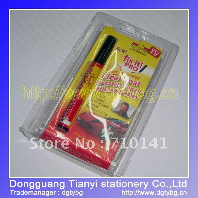 Wholesale auto paint new scratch repair pen car scratch pen polisher for car(China (Mainland))
