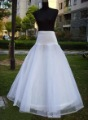 Free shipping white petticoat/underskirt/slip bridesmaid/prom/formal/party/wedding dress