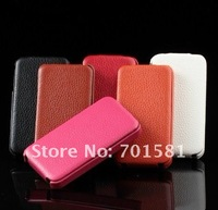 30pcs K-cool super thin genuine leather case for iphone 4S /4G free shipping