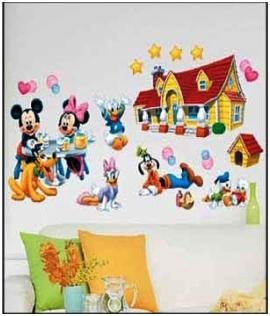 Duck Dog Family Sticker Mural Home Decor Room Decor Kids Room Picture