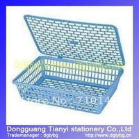 Document basket  magazine holder plastic basket