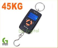 45kg Double Precision Hook Electronic Fishing Weight Digital Scale, 5pcs/lot, freeshipping, dropshipping