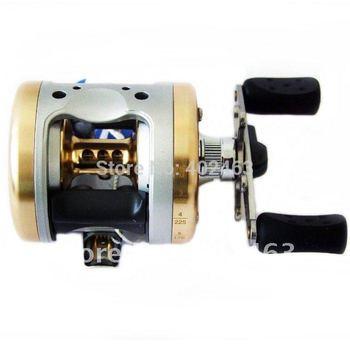 HAIBO HBC3510 Aluminum Alloy Baitcasting  baitcasting fishing reel  Rigid aluminum Spool and frame right hand style