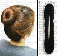 Free Shipping Fashion Hair Accessory, Sponge Bun Clip Maker Former, Hair Tools, Hair Band