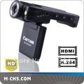 "H.264 1080P Portable vehicle dvr with 120 degree view angle 2.0"" LCD 270 Degrees car camera recorder K2000"