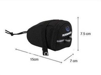 2012 Bicycle tool Saddle Outdoor Sport Cycle Bike Pouch Seat Bag black