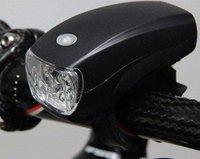Adjustable Cycling Bicycle Bike 4 LED Headlight/lamp