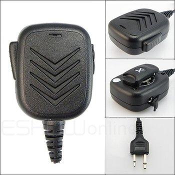 Handheld Speaker Mic for ICOM F 3 F 3S F 4 F 11/21/24 /43 V8TH7 T 22A Radio Walkie talkie transceiver interphone J0158A Eshow