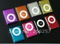 clip MP3,Lovely MINI MP3, mini clip MP3, with 2GB memorry TF(Micro sd) card ,include earphone, usb cable, retail crystal box