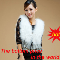 BG5149 2012 New Style Genuine Ostrich Fur Vest With Tassel Winter Lady Lovely Gilet Hot Sale OEM Wholesale/Free shipping