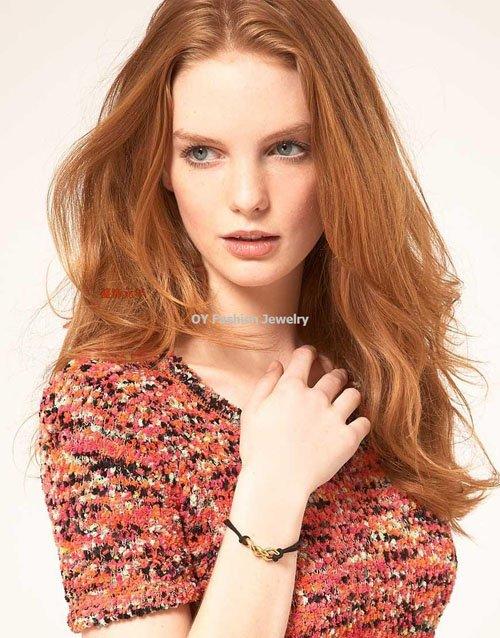 Very Hot!!! Gold Pyramid Spike Rivet Hair Comb Chain Ear Cuff Free ...